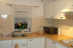 Einbauküche im Appartement