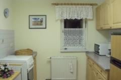 Küche im Appartment Nr. 5
