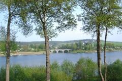 Bahnbrücke an der Malter