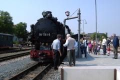 Bahnstation in Dippoldiswalde