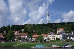 Fernsehturm in Dresden-Wachwitz